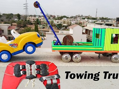 How to Make a Remote Control using blade for Towing Truck