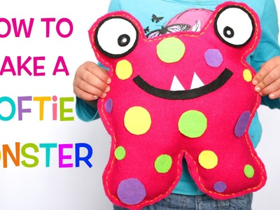 How to Make a Softie Monster