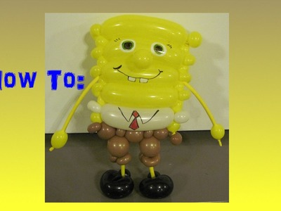 How to make a SpongeBob parady out of Balloons