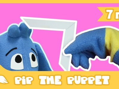 How to Make a Super Paper Boomerang | Pip The Puppet