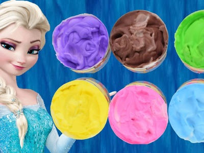 How To Make Frozen Paint, Learn Colors for Children, Toddlers and Preschool