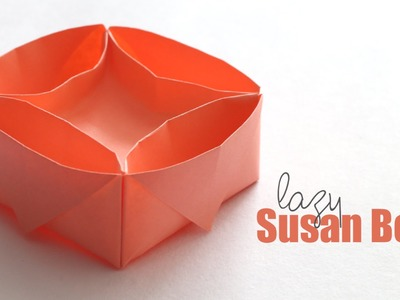 How to make : Lazy Susan Box