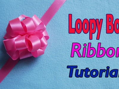 How To Make Loopy Puff Ribbon Bow