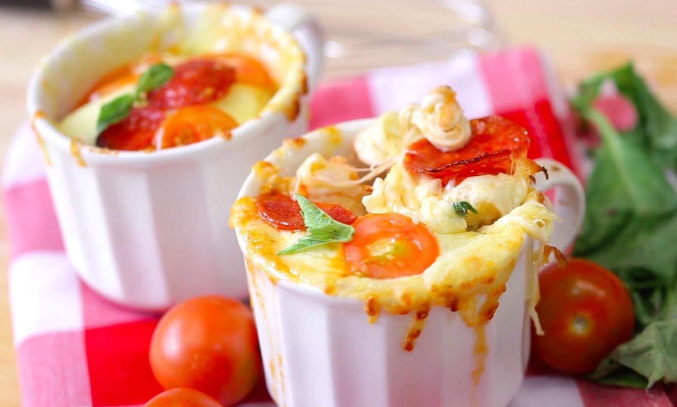 How to Make Microwave Pizza Mugs