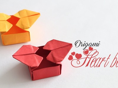 How to make : Origami Heart Box