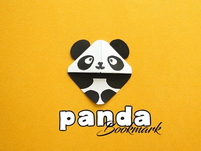 How to Make : Panda Bookmark (Kung Fu Panda)