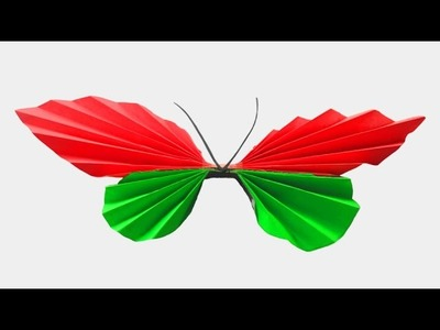 How To Make Paper Butterfly Simple And Easy