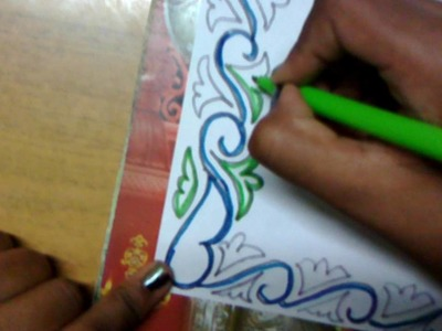 How to make simple border designs