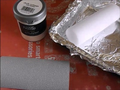 How to paint engraved wood 2 different colours.