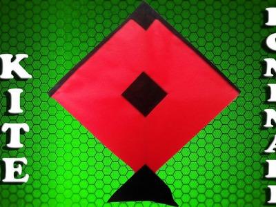 Kite: How to make a kite (paper kite) - homemade