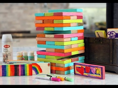 Lilyshop How To  Make Giant Jenga Blocks