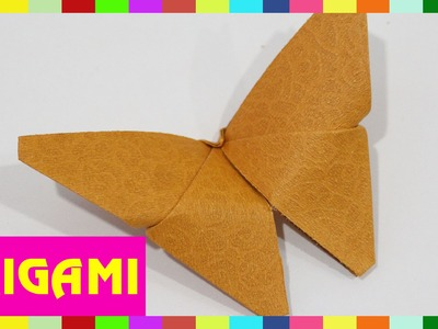Origami Butterfly - How To Fold Butterfly  (Kasumi Paper)