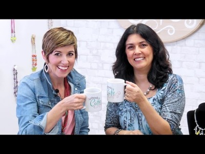 Artbeads Cafe - Layers of Leather with Cynthia Kimura and Candie Cooper
