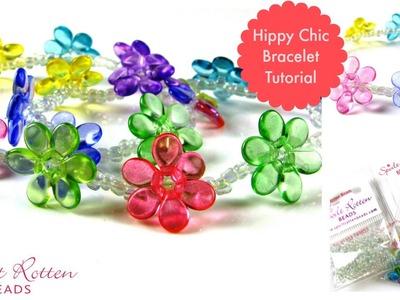 Hippy Chic Pip Bracelet Tutorial