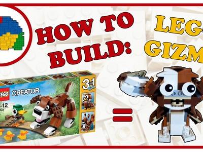 How to Build Lego Gizmo from set 31044 Park Animals