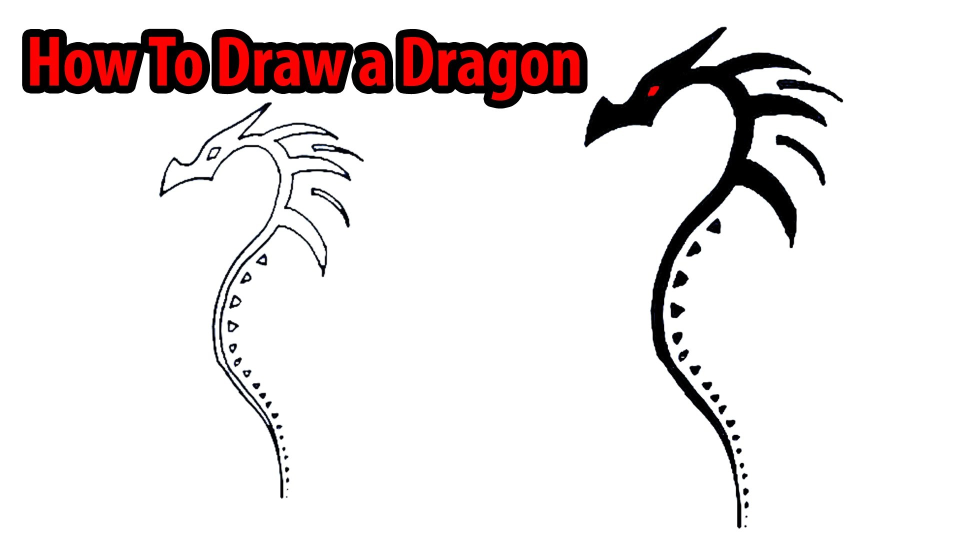 How To Draw Goku Ssj 3 Dragon Ball Z Youtube How To Draw A Dragon Easy