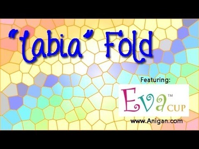 "How to Fold a Menstrual Cup - ""Labia"" Fold"