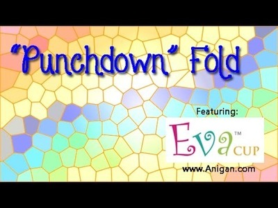 "How to Fold a Menstrual Cup - ""Punchdown"" Fold"