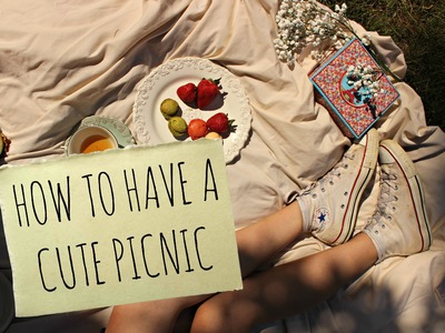 How To Have A Cute Picnic