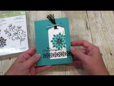 How to make a beautiful Flourishing Phrases Card