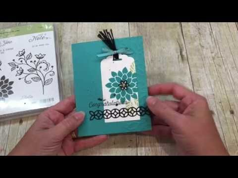 How to make a beautiful Flourishing Phrases Card