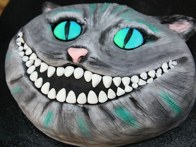 How To Make A Cheshire Cat Cake - CAKE STYLE - Tim Burton Alice in Wonderland