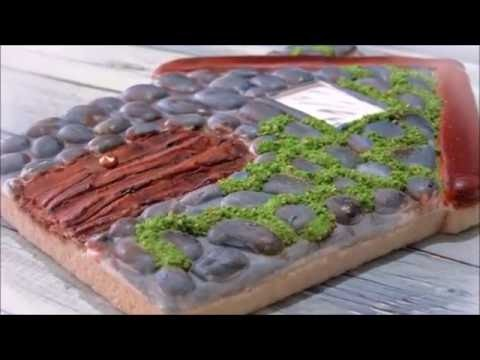 How to Make a Cobblestone House Cookie  by Emma's Sweets