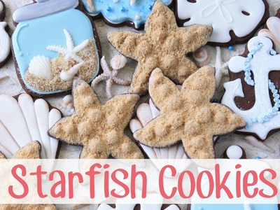 How to Make a Decorated Starfish Sugar Cookies