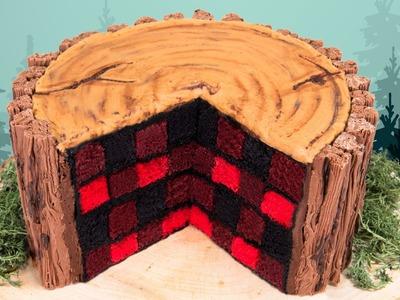 How to Make a Lumberjack Cake