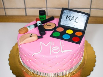 HOW TO MAKE A MAKE UP CAKE!