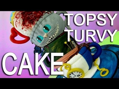 How To Make A Topsy Turvy Tiered Teacup Cake For An Alice In Wonderland Tea Party