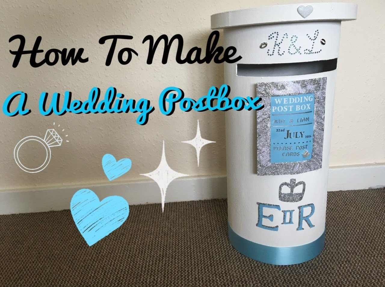 How To Make: A Wedding Postbox