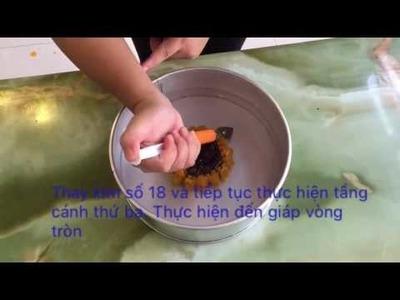How to make amazing 3D Gelatin Jelly Art   Sunflower