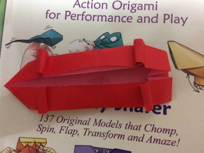 How to make an origami skateboard