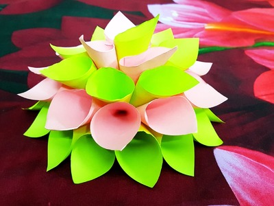 How to Make Awesome Flower Origami Easy Way