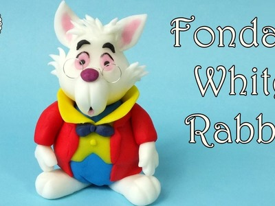 How to make fondant White Rabbit from Alice in Wonderland
