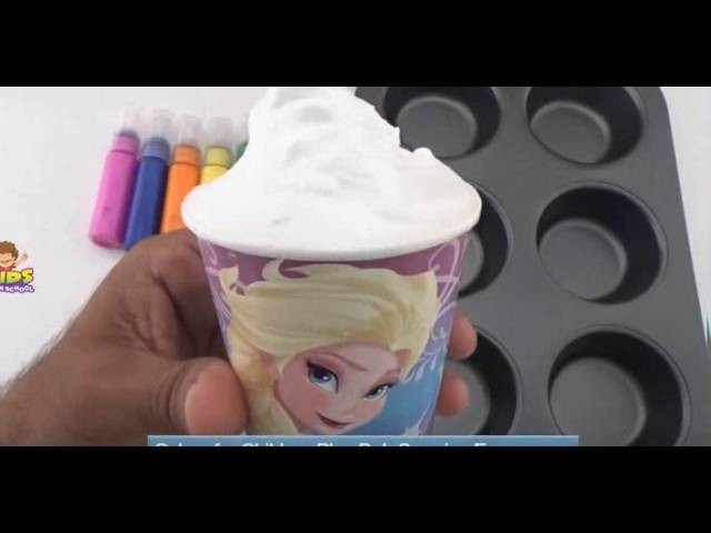 How To Make Frozen Paint For Kids,Colors for Children to Learn Toddlers Baby and Kindergarten