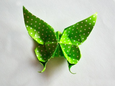 How to make Paper ButterFly   Butterfly Origami   PaperMade