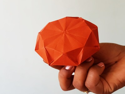 How to Make Paper Diamond : Origami 2