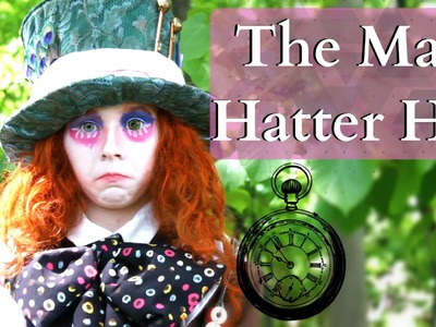 How to Make The Mad Hatters Hat Alice in Wonderland.Alice Through the Looking Glass
