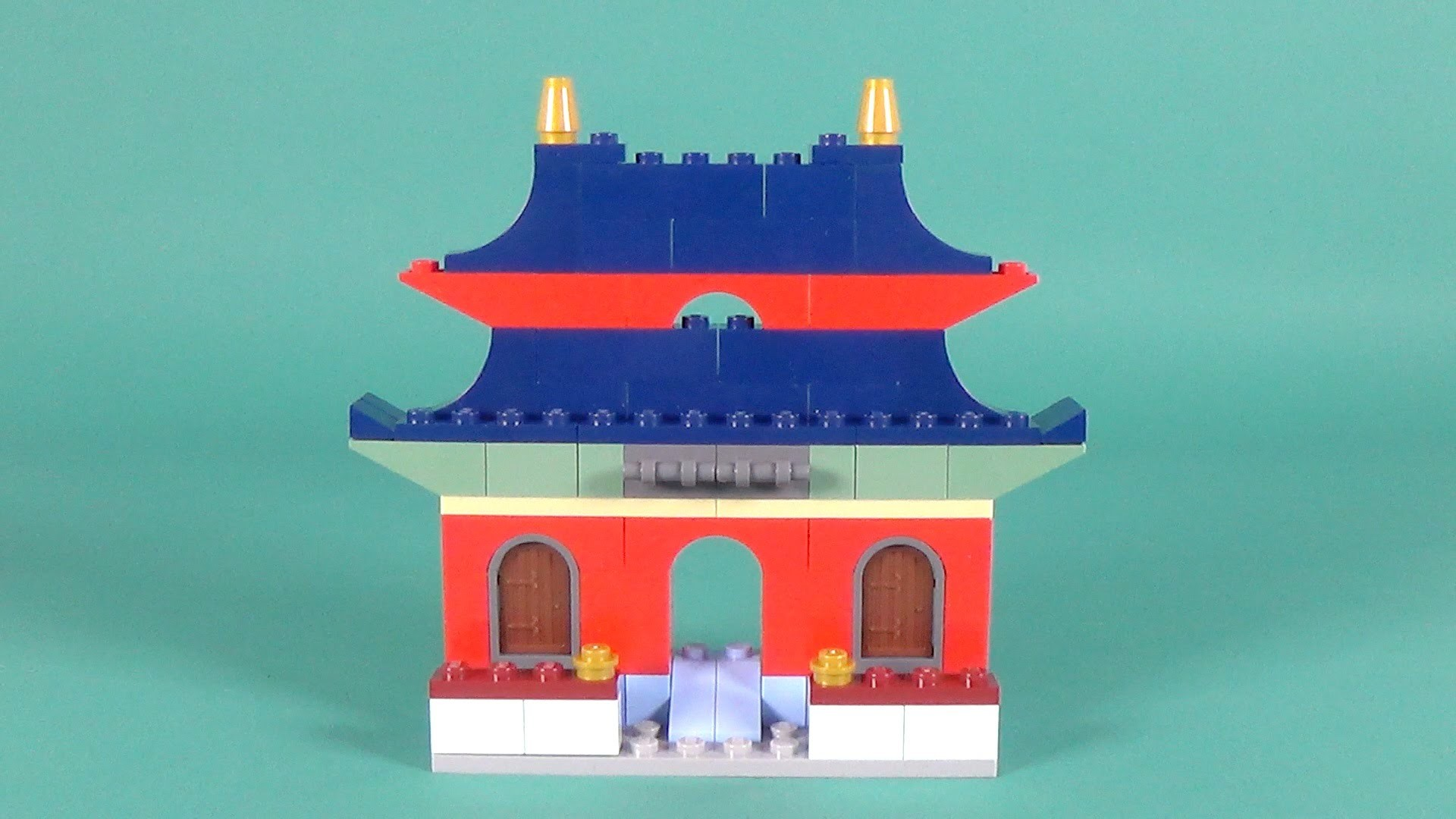 Lego Oriental House Building Instructions Lego Classic 10702 How To