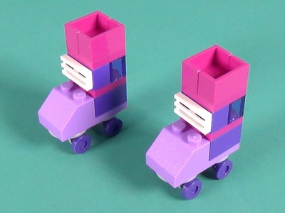 "Lego Roller Skates Building Instructions - Lego Classic 10702 ""How To"""
