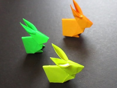 Origami Rabbit - Origami Rabbit Easy Instructions