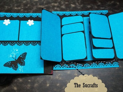 Quick Simple Scrapbook | The Sucrafts