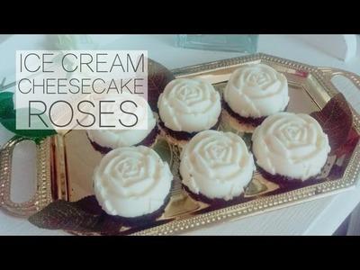 Ramadan Recipes: How to Make Vanilla Oreo Ice Cream Cheesecake Roses
