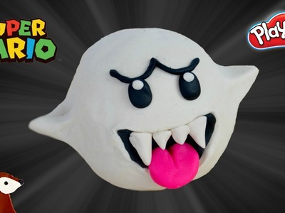 Super Mario Play-Doh: How to Make Boo
