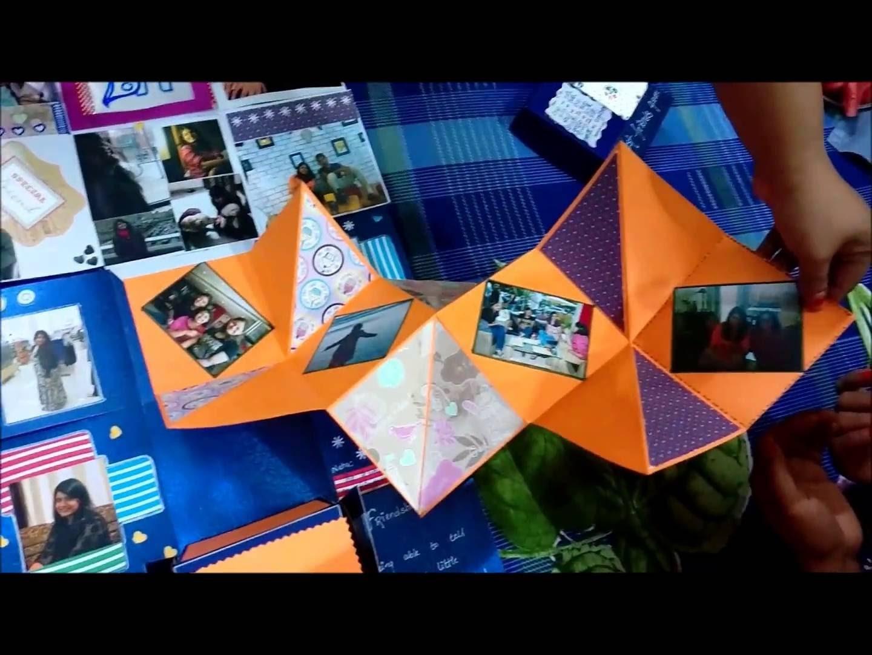 Surprise gift idea 2016 - Box Card   Box Scrapbook   DIY   Crafts Mania