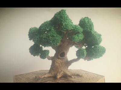 3D Pen Creations | Making a realistic tree | 3D Pen Art