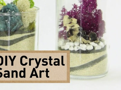 Crystal Sand Art How-To