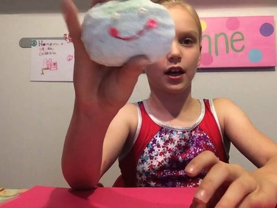 Homemade Squishy Creation Tutorial - How to Do Toy Review
